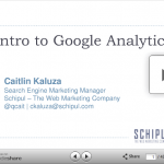 Intro to Google Analytics & Making Business Decisions with Analytics