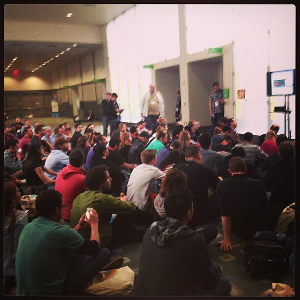 Matt Cutts SXSW Panel Overflow Seating